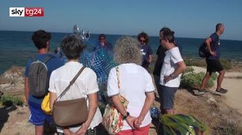 Marzamemi, volontari per pulire il mare dai rifiuti