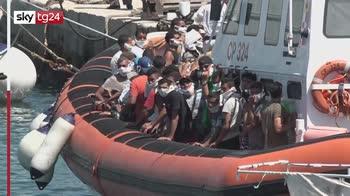 nuovo sbarco a lampedusa, arrivati 60 migranti