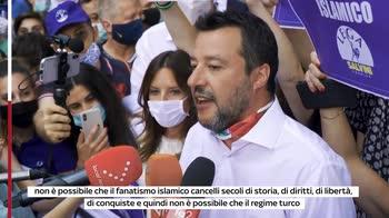 S. Sofia moschea, Salvini: è patrimonio della cristianità
