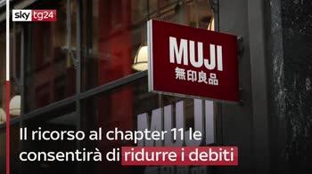 ERROR! Muji ricorre al chapter 11 per bancarotta