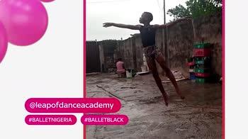 #Hashtagart, bimbo danza nel fango: dal video al lieto fine
