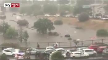 ERROR! Bomba d'acqua a Palermo. Due vittime