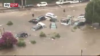 ERROR! Violento nubifragio a Palermo, due morti intrappolati in un'automobile