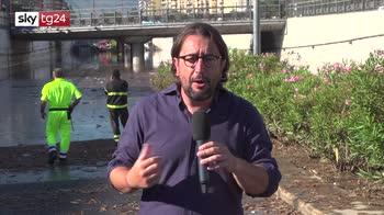 Bomba d'acqua a Palermo, giallo sui dispersi