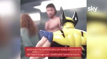 VIDEO X-Men, Hugh Jackman festeggia i 20 anni con un video