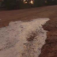 L'acqua torna in un torrente australiano prosciugato