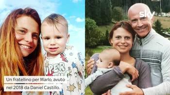 VIDEO Giorgio Mastrota e Natalia Estrada nonni: ecco Sacha