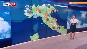 L'Italia nella morsa del caldo, massime superiori ai 40°C