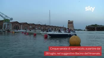 VIDEO Barch-in, il cinema con la platea in barca a Venezia