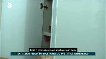 Ogni Mattina, a casa di Patrizia Pellegrini