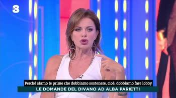 Ogni Mattina, Alba Parietti e le donne