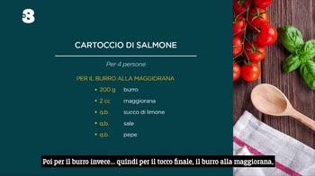 Ogni Mattina, si cucina il cartoccio di salmone