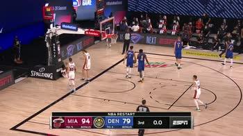 NBA Highlights: Denver Nuggets-Miami Heat 105-125