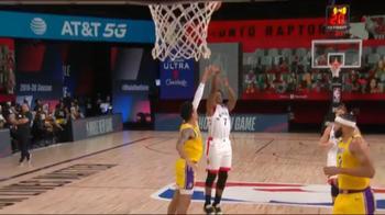 NBA, i 33 punti di Kyle Lowry contro i Lakers