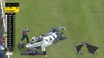 WARN! - su Sky F1 15.36 l'incidente di Kvyat