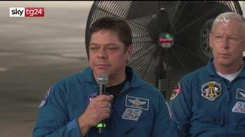 Space X atterra nel Golfo del Messico