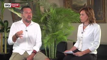 Salvini a Sky TG24: contro di me processo politico