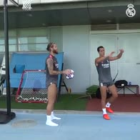 sergio-ramos-lucas-vazquez-real-madrid-basket-video