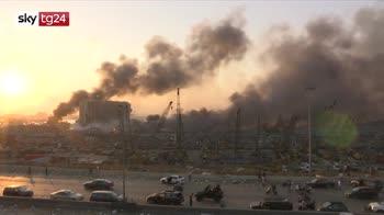 Doppia esplosione a Beirut