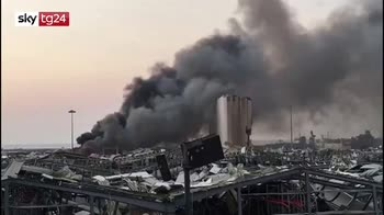 Libano, forti esplosioni a Beirut