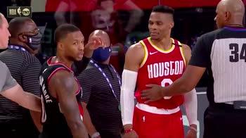 NBA: Westbrook contro Lillard, ma la colpa è di Nurkic