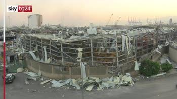 Esplosioni in Libano, come si è svegliata Beirut