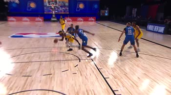 NBA, Assist of the Night: Aaron Holiday