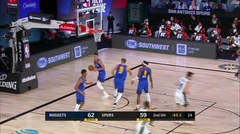 NBA Highlights San Antonio-Denver 126-132_3554639