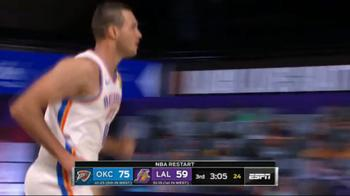 NBA Highlights L.A. Lakers-OKC 86-105 _3816766