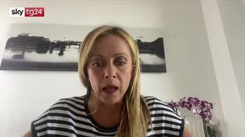 L'intervista di Giorgia Meloni a Sky TG24