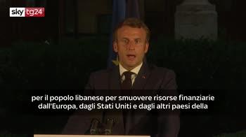 Macron annuncia conferenza internazionale per gli aiuti