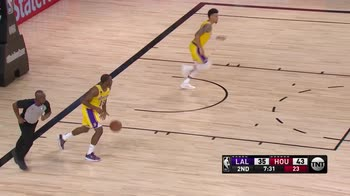NBA, 39 punti per James Harden contro i Lakers