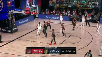 NBA Highlights Portland-Denver 125-115_1917978