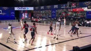 NBA, il migliore della notte è Jrue Holiday (8 agosto)