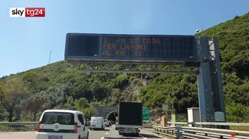 ERROR! Lunghe code sull' A12 in Liguria per le partenze estive