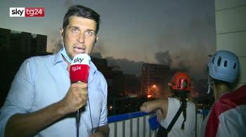 Guerriglia a Beirut, le immagini