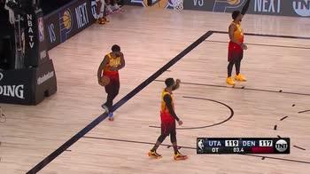 NBA, 30 punti per Nikola Jokic vs Utah