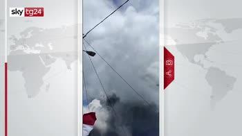 Eruzione vulcano in Indonesia