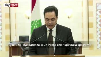 Libano, il premier Diab annuncia le dimissioni del governo