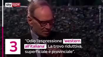 VIDEO Ennio Morricone: le sue frasi più famose