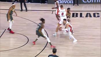NBA, i 30 punti di Tyler Herro contro i Thunder