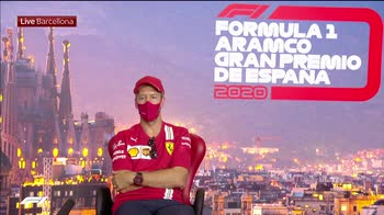 CONF VETTEL SU RUMORS ADDIO ANTICIPATO CON FERRARI 200813_3708946