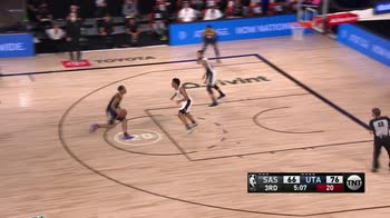NBA Highlights Utah-San Antonio 118-112_5130800