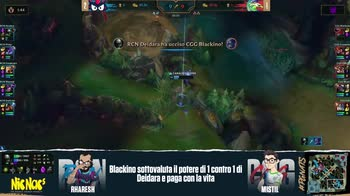 League of Legends, Playoff Racoon vs Cyberground