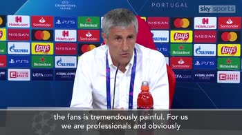 Setien: Result is tremendously painful