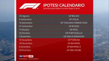 WARN! - f1 altre 4 gare in calendario ore 12.32 a 12.33