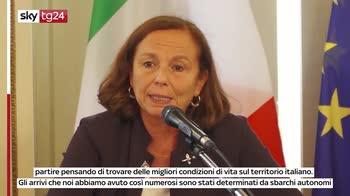 Lamorgese: Covid complica la questione immigrazione