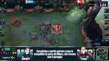 League of Legends, Playoff Mkers vs Morning Stars