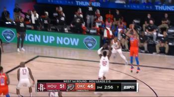 NBA, 20 punti di Danilo Gallinari contro Houston (gara-3)
