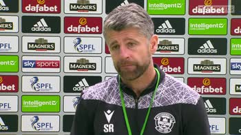Robinson: Don't judge us on results against Celtic